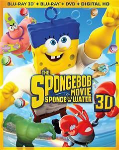 Spongebob Squarepants 2 Sponge Out Of Water Dvd Release