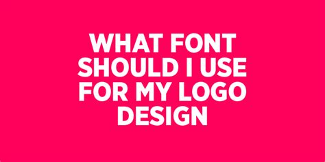 What Size Font Should You Use On A Resume by What Font Should I Use For My Logo Design Opus Creative