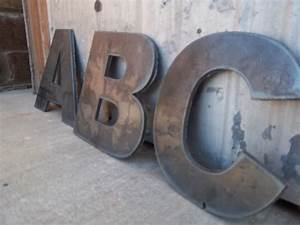 metal letters by cuttingedgemetalwork on etsy 1600 my With acacia home metal letters