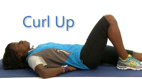 How To Do A Curl Up Health Euniversity Youtube