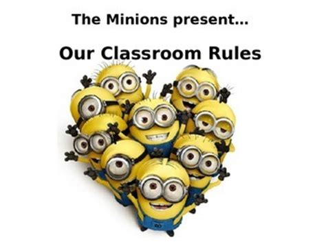 Minions Classroom Rules posters (EDITABLE) by Mrs Mays