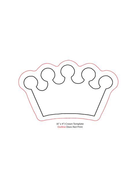 Crown Template For by Crown Template 5 Free Templates In Pdf Word Excel