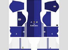 DLS 16FTS 15 Real Madrid FANTASY Kit 2017