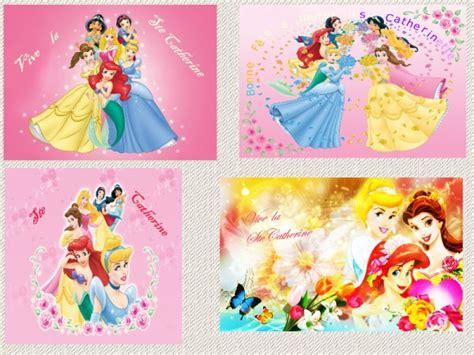 Carte De Sainte Catherine Disney by Cartes De Ste Catherine Th 233 Me Princesse Dysney De
