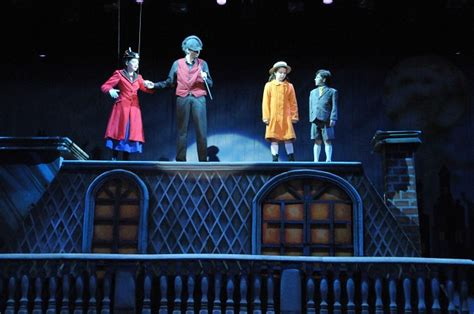 mary poppins  man  cinderella theatrical sets