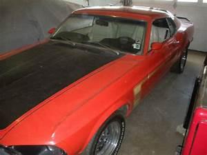 Ebay Find  1969 Boss Mustang 302 Garage Find  All Original