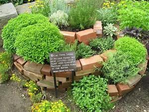 Spiral, Herb, Garden, Design, Photograph