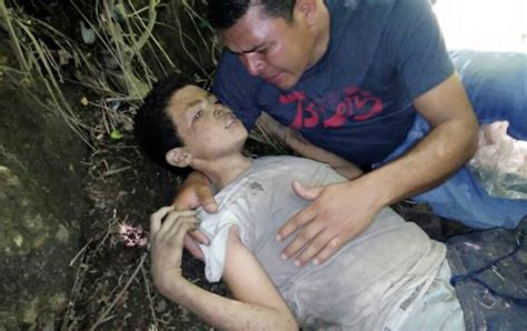 Guatamalan father finds son dying after being thrown off ...