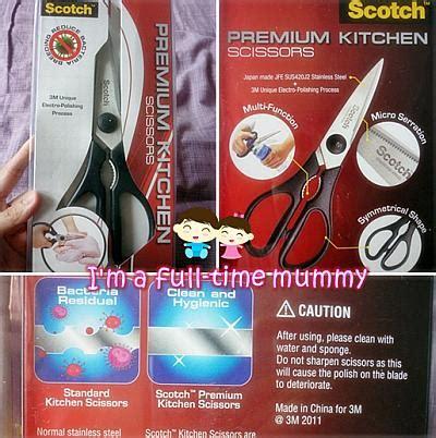 Scotch Kitchen Scissors by I M A Time Mummy Product Review Scotch Premium