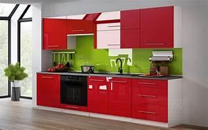Küche Rot Hochglanz : kaufexpert k chenzeile linda rot hochglanz 260 cm k che k chenblock mdf arbeitsplatte ~ Yasmunasinghe.com Haus und Dekorationen