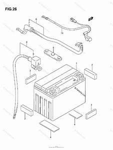 Suzuki Atv 2004 Oem Parts Diagram For Battery