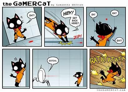 Comics Gamer Gamercat Cat Target Funny Acquired