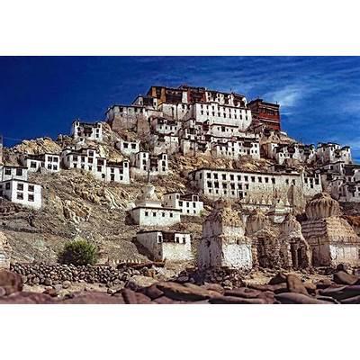 Thiksey Monastery Photograph by Steve Harrington