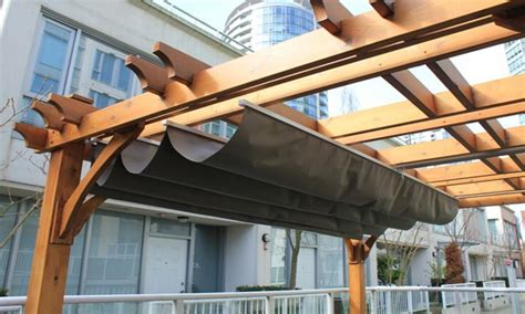 Pergola Mit Dach by Retractable Pergola Roof Diy Pergola Design Ideas