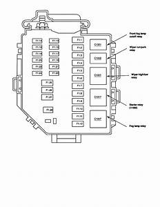 Ford Mustang V 6 Fuse Box