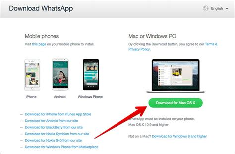 how to whatsapp desktop app on mac and windows pc
