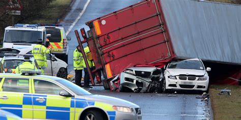 Lorry Driver Killed In West Lothian Amid