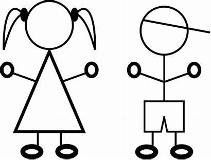 Stick Figure Clipart Children Clip Kid Child