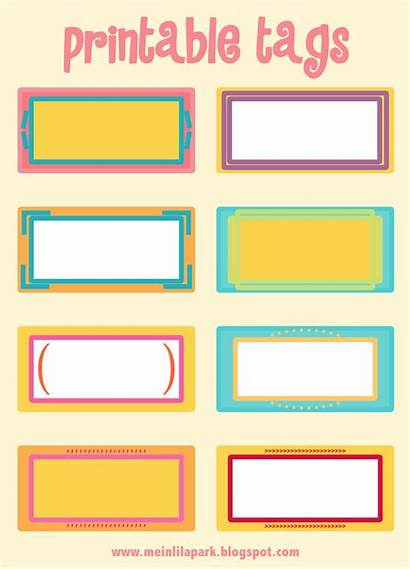 Printable Tags Template Tag Labels Blank Plates
