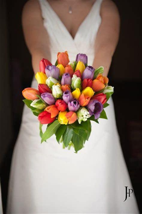 tulip wedding flower   summer wedding flowers