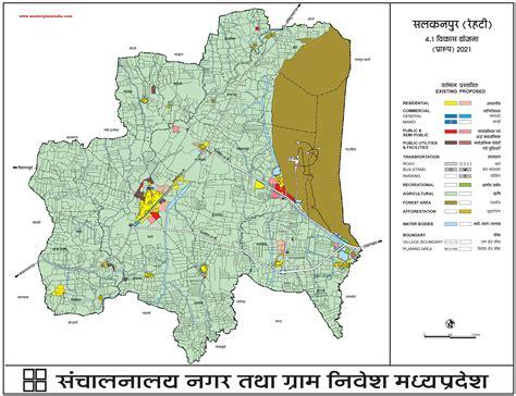 salkanpur master plan  map draft master plans india