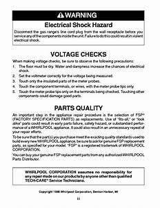 Whirlpool Service Professional Seminar Gas Ranges Service Manual Download  Schematics  Eeprom