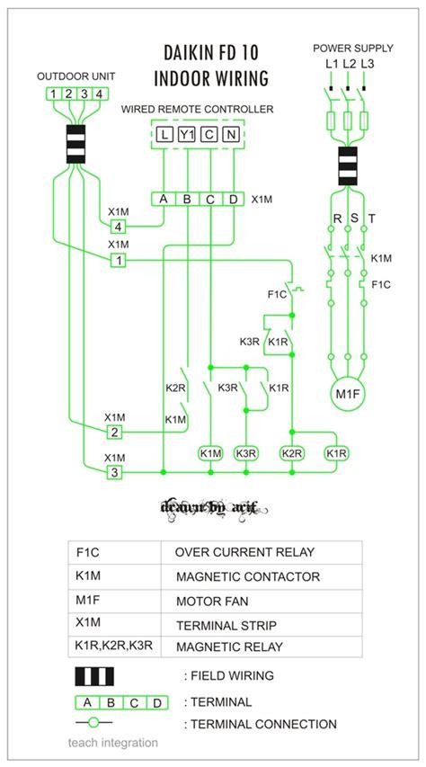 Electric Control Circuit Diagram Of A Refrigerator