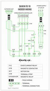 Wiring Diagram Ac Split Daikin