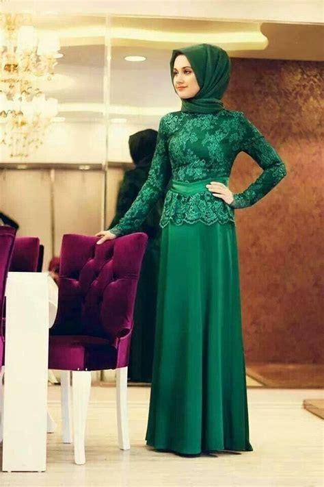 kebaya dress modern remaja muslimah berkerudung