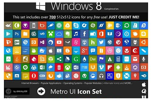 metro ui icon set download