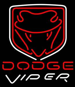 Dodge Viper Logo Neon Sign | Automotive Neon Signs ...