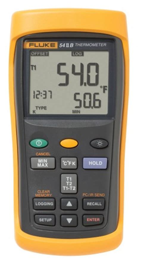 fluke    thermocouple thermometerdata logger