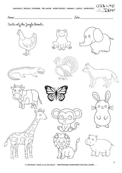 60 kindergarten zoo animal worksheet printable worksheets