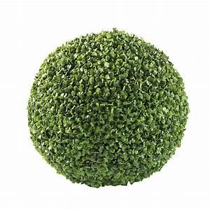 Boule De Buis : boule de buis artificielle d 35 cm maisons du monde ~ Melissatoandfro.com Idées de Décoration