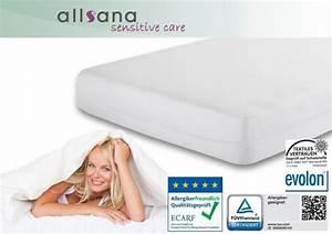 Matratzen Für Allergiker : allsana matratzen topper bezug 180x200x8cm milben encasing f r allergiker ebay ~ Orissabook.com Haus und Dekorationen