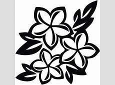 Clipart Spring Flowers Black And White Clipart Panda