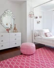 pink girl s room design in bohemian style kidsomania
