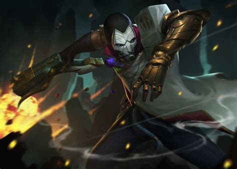 jhin league  legends game  wallpaper league