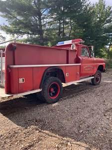 Napco 1965 Chevrolet C  K 30 4x4 Fire Truck For Sale