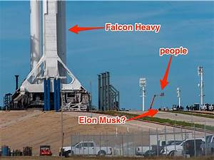 SpaceX Falcon Heavy launch: Rocket is vertical on ...