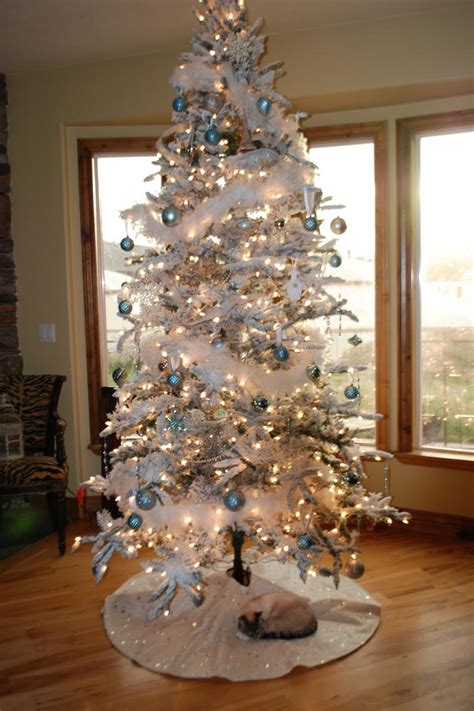 white christmas tree decorating ideas christmas