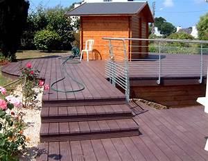 Plot Plastique Terrasse : terrasse bois sur plot plastique id es ~ Edinachiropracticcenter.com Idées de Décoration