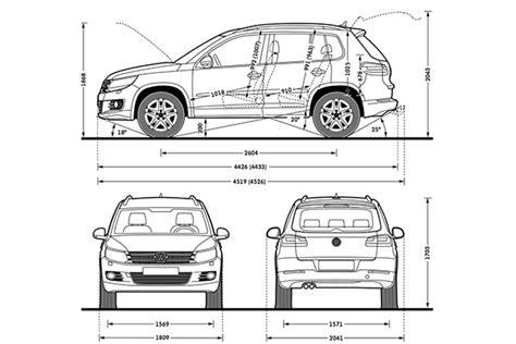 2017 Volkswagen Tiguan Dimensions by Volkswagen Tiguan Interior Dimensions Decoratingspecial