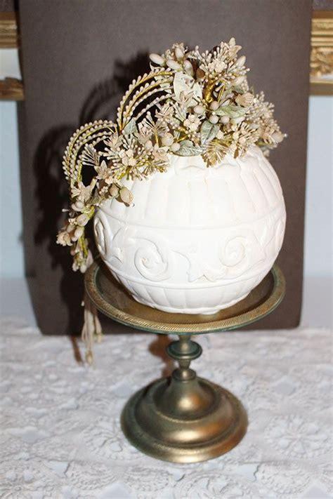 gorgeous french wax tiara ca headpiece crown
