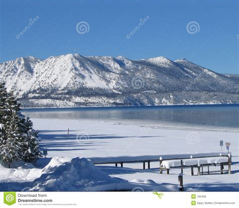 At Lake Tahoe No Thank You The Miracle Shelter In Seattle Dating Unaware Romancing America Nevada by Lake Tahoe En Hiver 1 Image Libre De Droits Image 784436