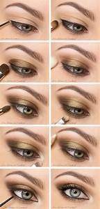 Gold and Black Smokey Eye Tutorials | Best Gold and Black ...