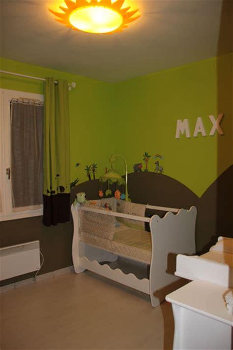 chambre enfant savane chambre savane photo 6 6 chambre avec th 232 me savane