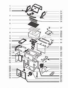 Weber 6811001 Parts List And Diagram