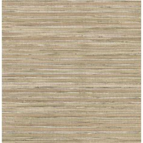 brewster  sq ft faux grasscloth wallpaper