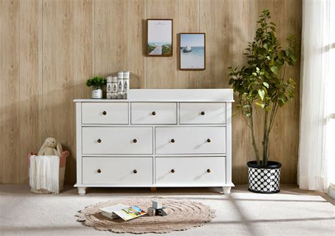 Nz Pine Baby Change Table 7 Chest Of Drawers Dresser Free